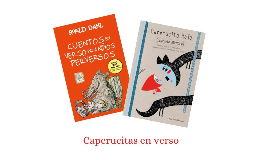 Caperucitas en verso - Selección de 20 Caperucitas Rojas - Telar de Libros