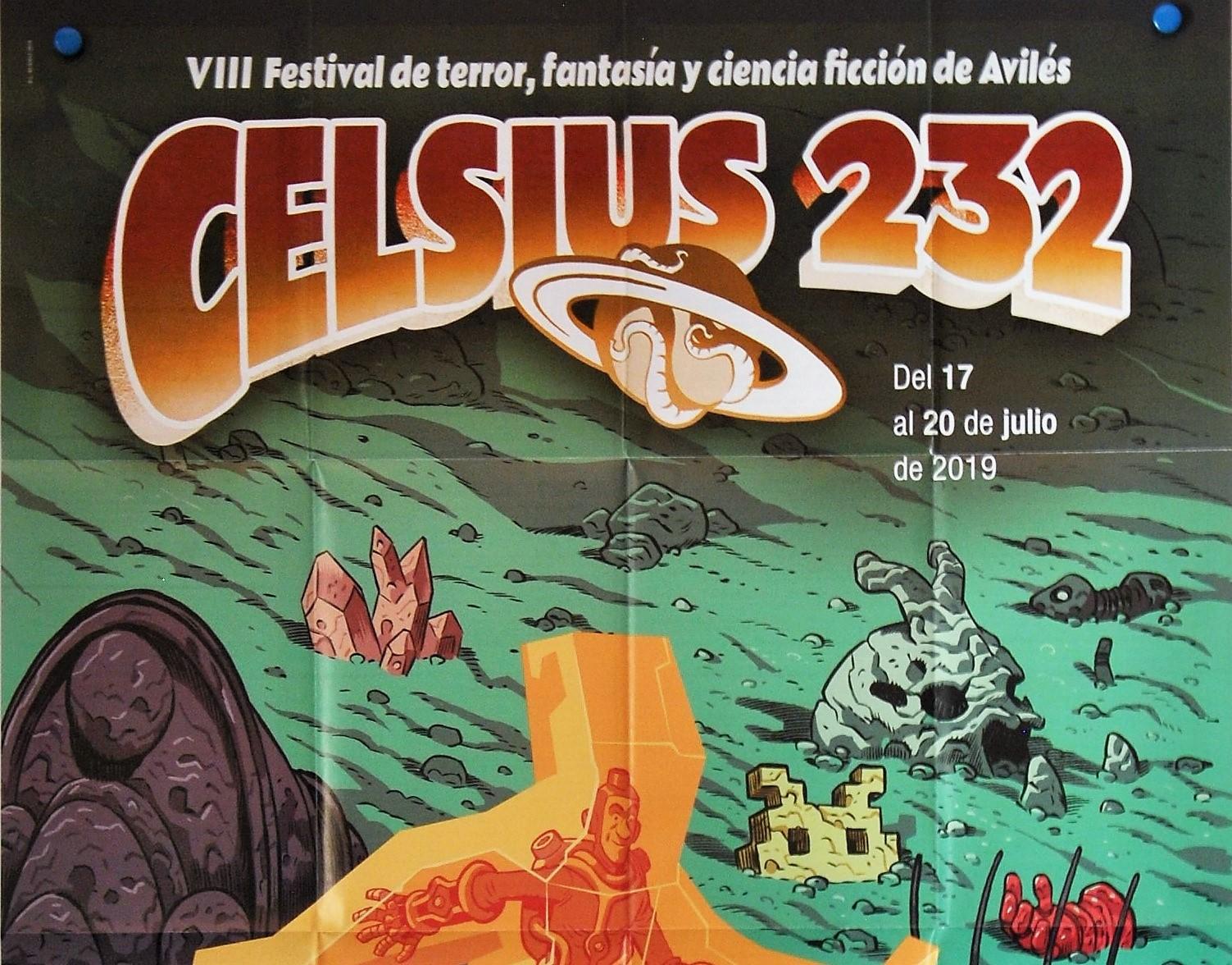 Cartel del Celsius 232 2019