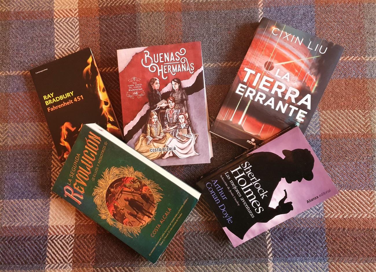 Cinco libros - recomendaciones de los lectores - Telar de Libros