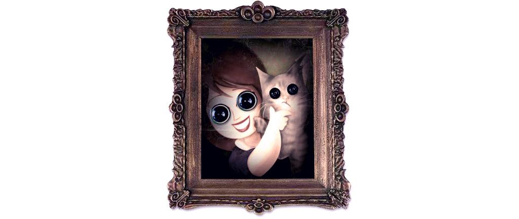 Coraline, ¿el libro o la película? - reseñas de libros para niños - ilustración de Alicia Jiménez