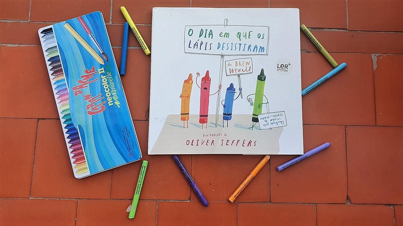 El día que los crayones renunciaron - O dia em que os lápis desistiram - Drew Daywalt y Oliver Jeffers - reseñas Telar de Libros