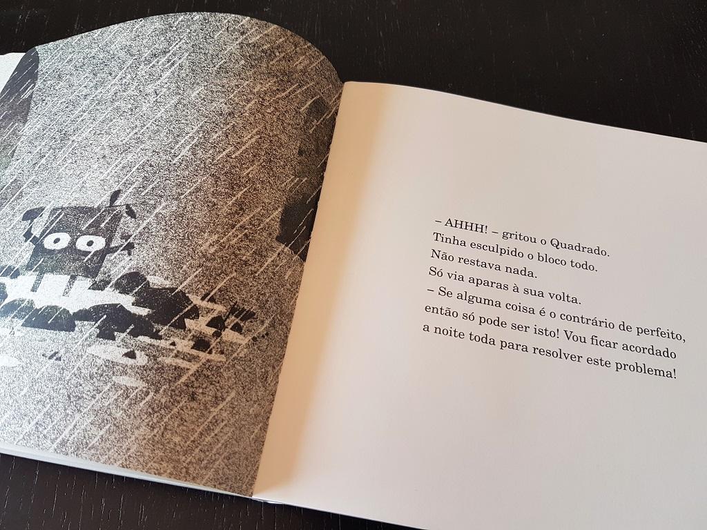 Cuadrado - Mac Barnett y Jon Klassen - reseñas de libros para niños - Telar de Libros