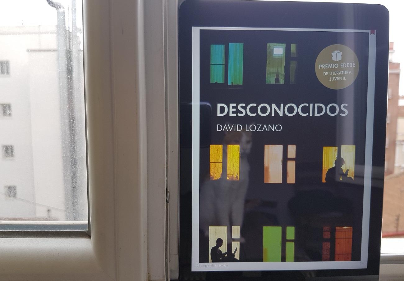 Desconocidos David Lozano Libros para jóvenes
