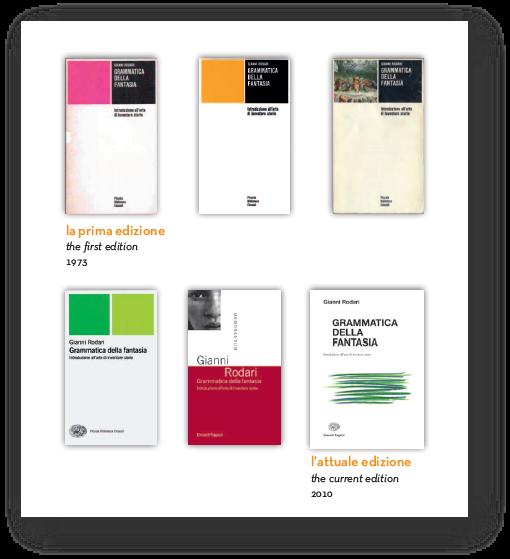 Ediciones de Gramática de la fantasía en italiano - Enaudi