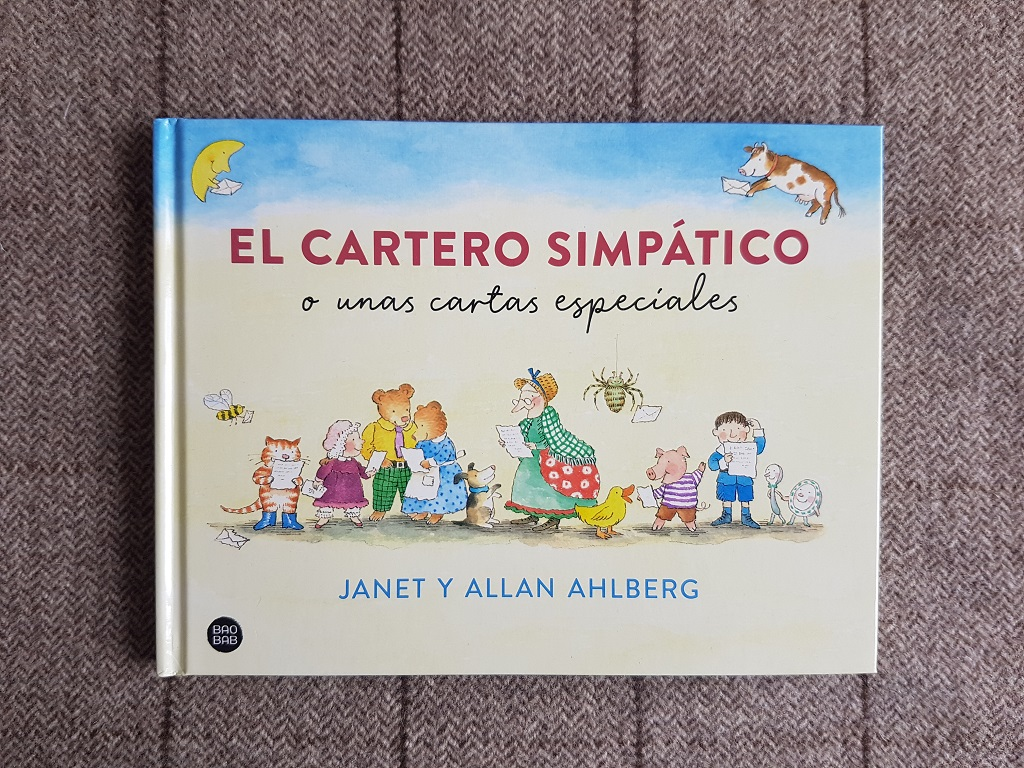 El cartero simpático o unas cartas especiales - Janet y Allan Ahlberg - Día Internacional del Libro Infantil 2021 - Telar de Libros