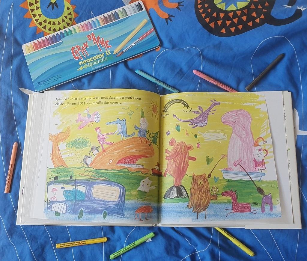 El día que los crayones renunciaron - Drew Daywalt y Oliver Jeffers - reseñas de libros Telar de Libros
