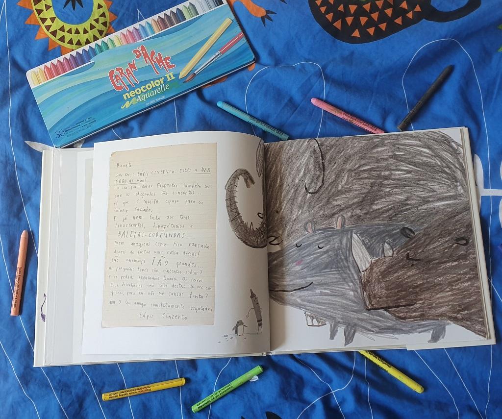 El día que los crayones renunciaron - Drew Daywalt y Oliver Jeffers - reseñas de libros para niños Telar de Libros