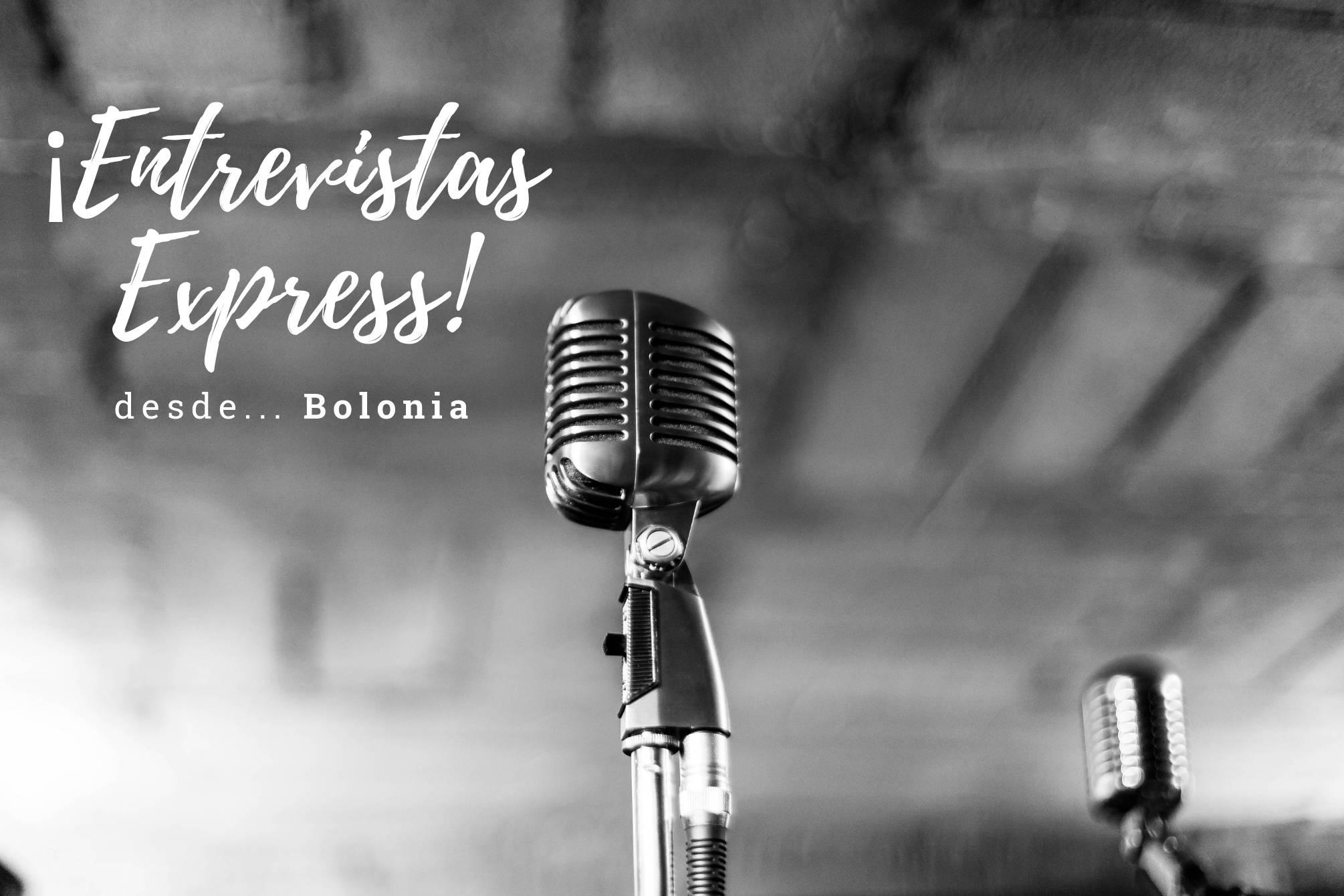 Entrevistas express desde Bolonia