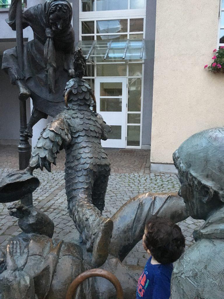 Fuente de los Bufones en Gengenbach