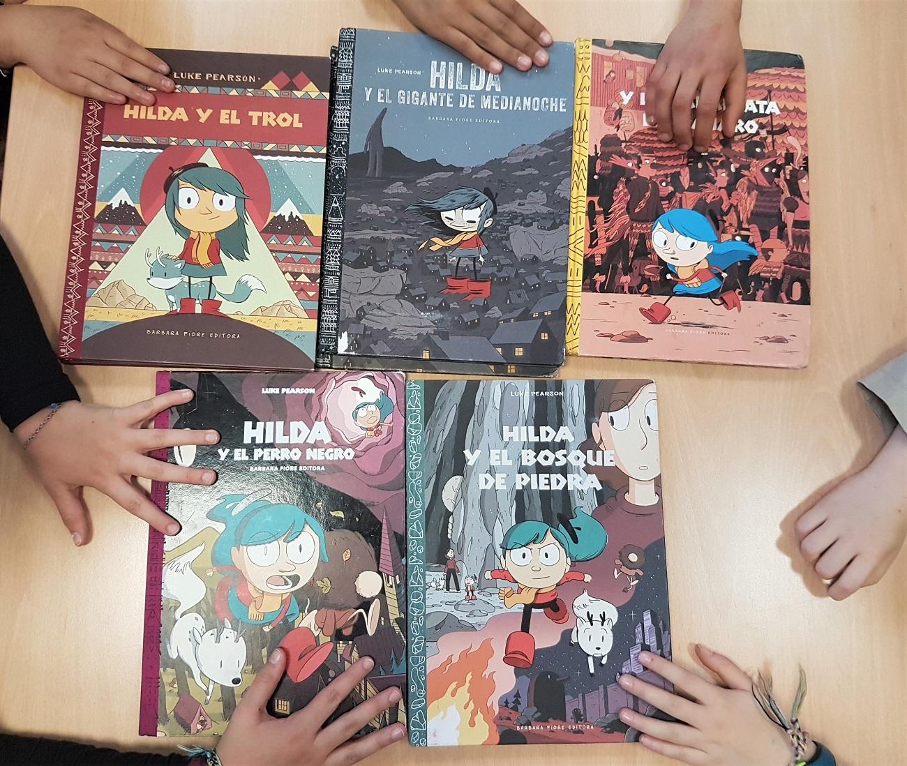 Hilda reseña cómic - Telar de Libros - Club de lectura