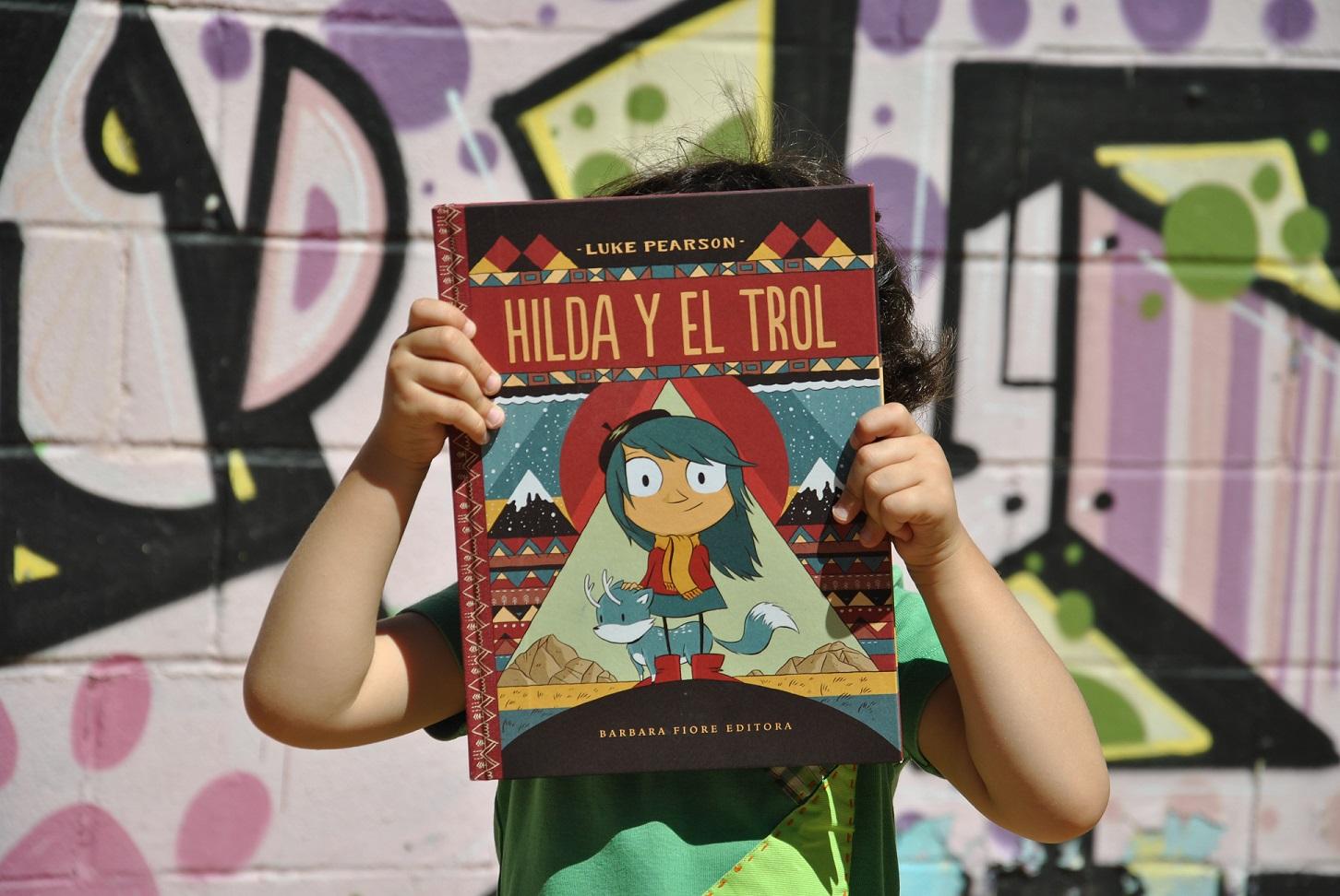 Hilda y el trol Luke Pearson Cómic y Novela gráfica para todas las edades