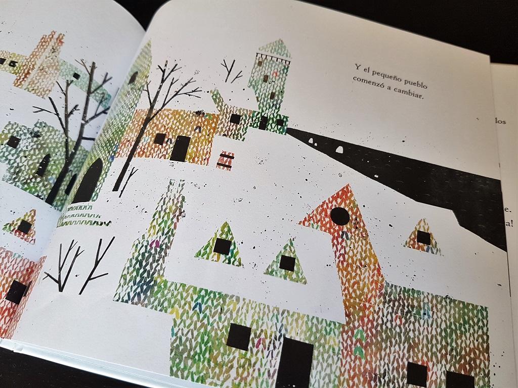 Hilo sin fin Mac Barnett y Jon Klassen - reseñas de literatura infantil Telar de Libros