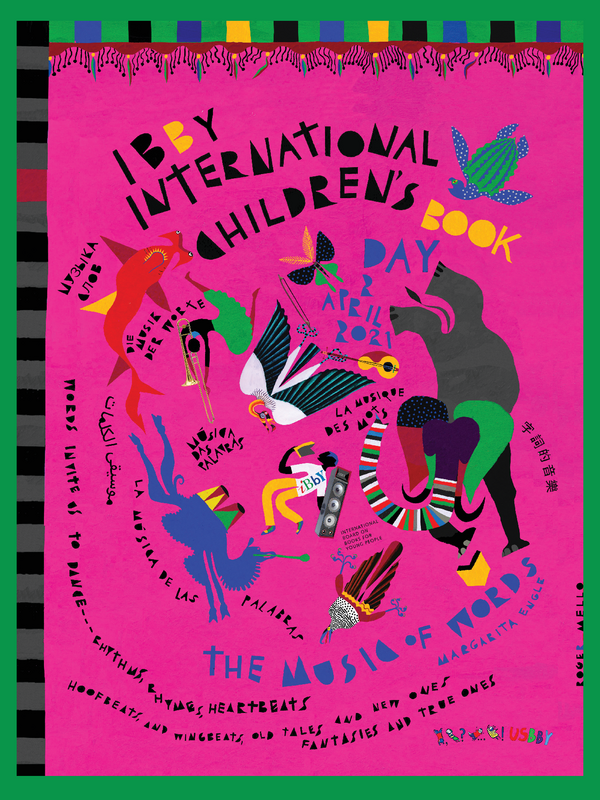 Cartel de Roger Mello para el Día Internacional del Libro Infantil 2021 - IBBY