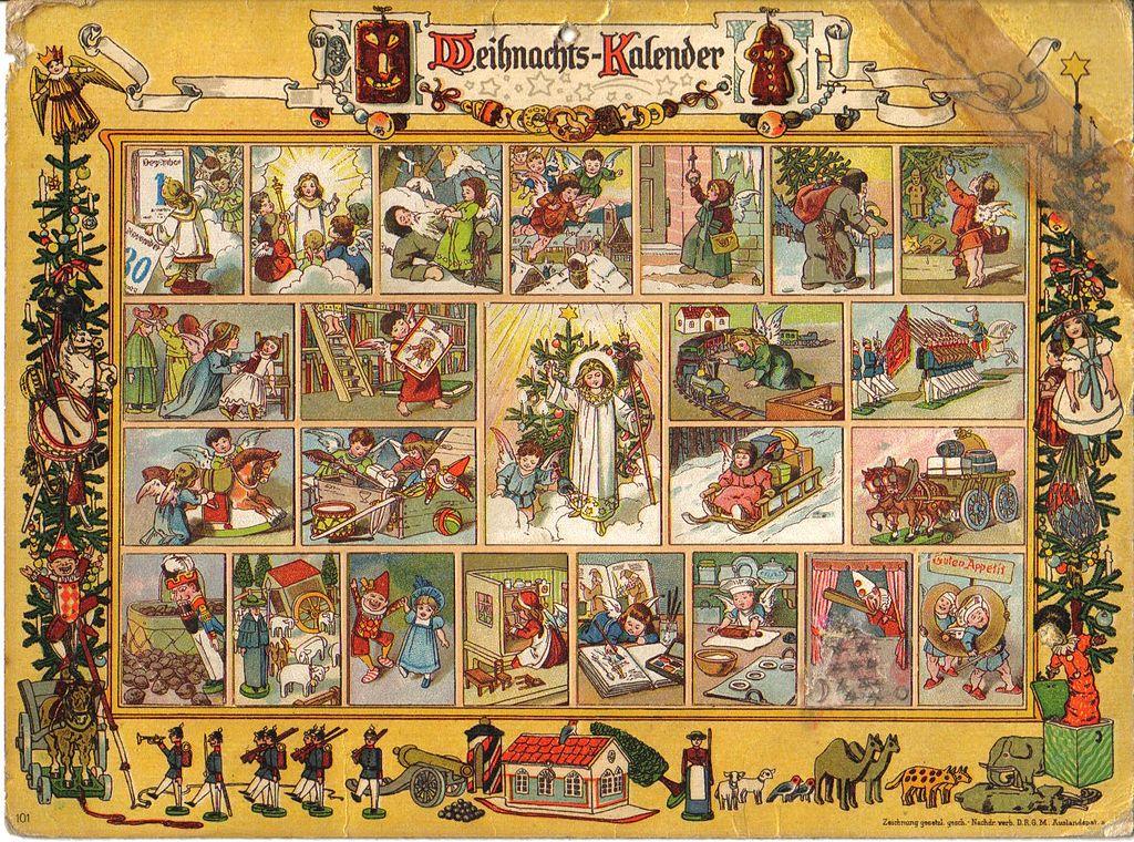 El origen del calendario de Adviento - Gerhard Lang - Telar de Libros
