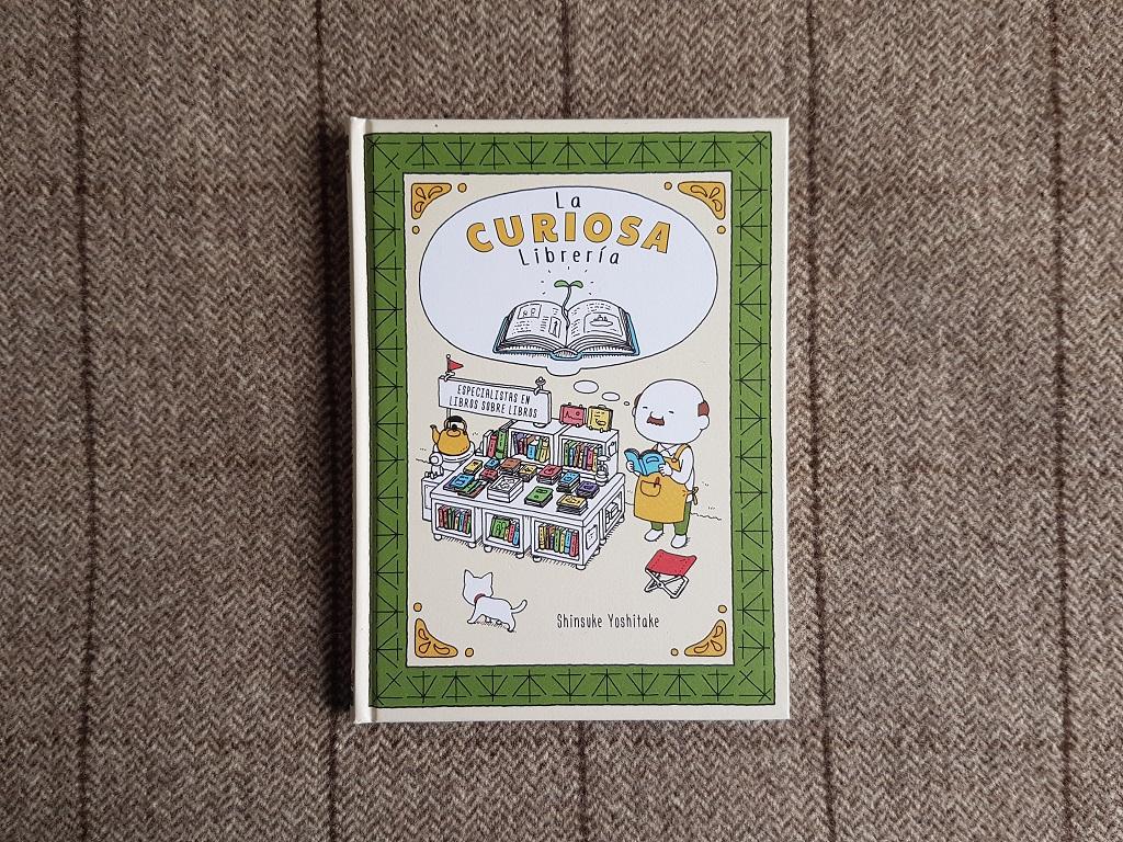 La curiosa librería - Shinsuke Yoshitake - Día Internacional del Libro Infantil 2021 - Telar de Libros