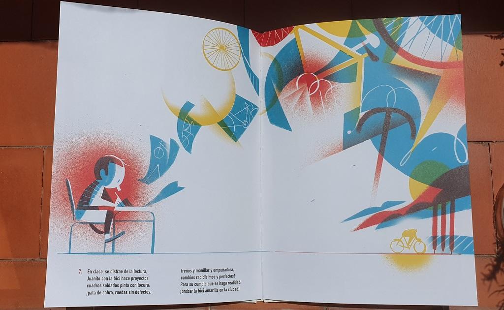 Sueños - La Bicicleta Amarilla - Matteo Pelliti y Riccardo Guasco - reseñas de libros para niños - Telar de Libros