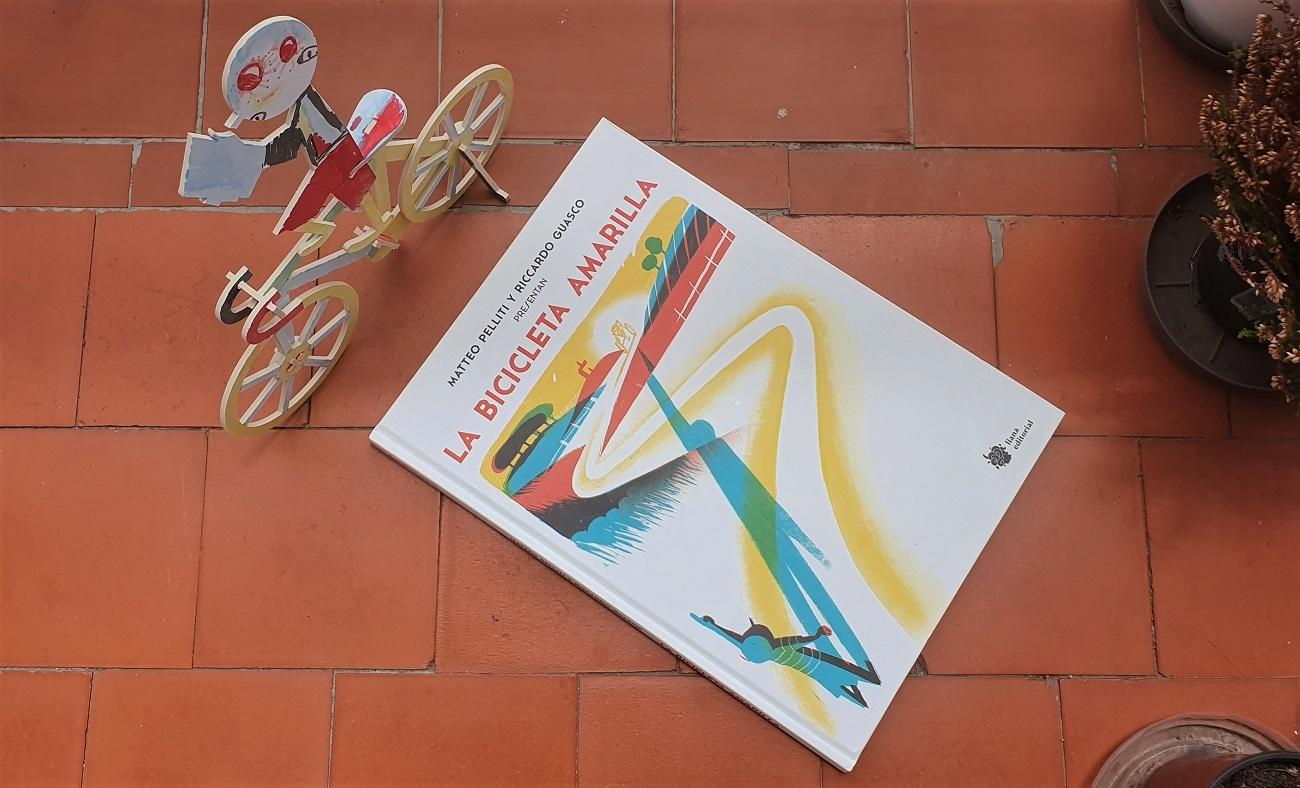 La Bicicleta Amarilla - Matteo Pelliti y Riccardo Guasco - libros para niños - Telar de Libros