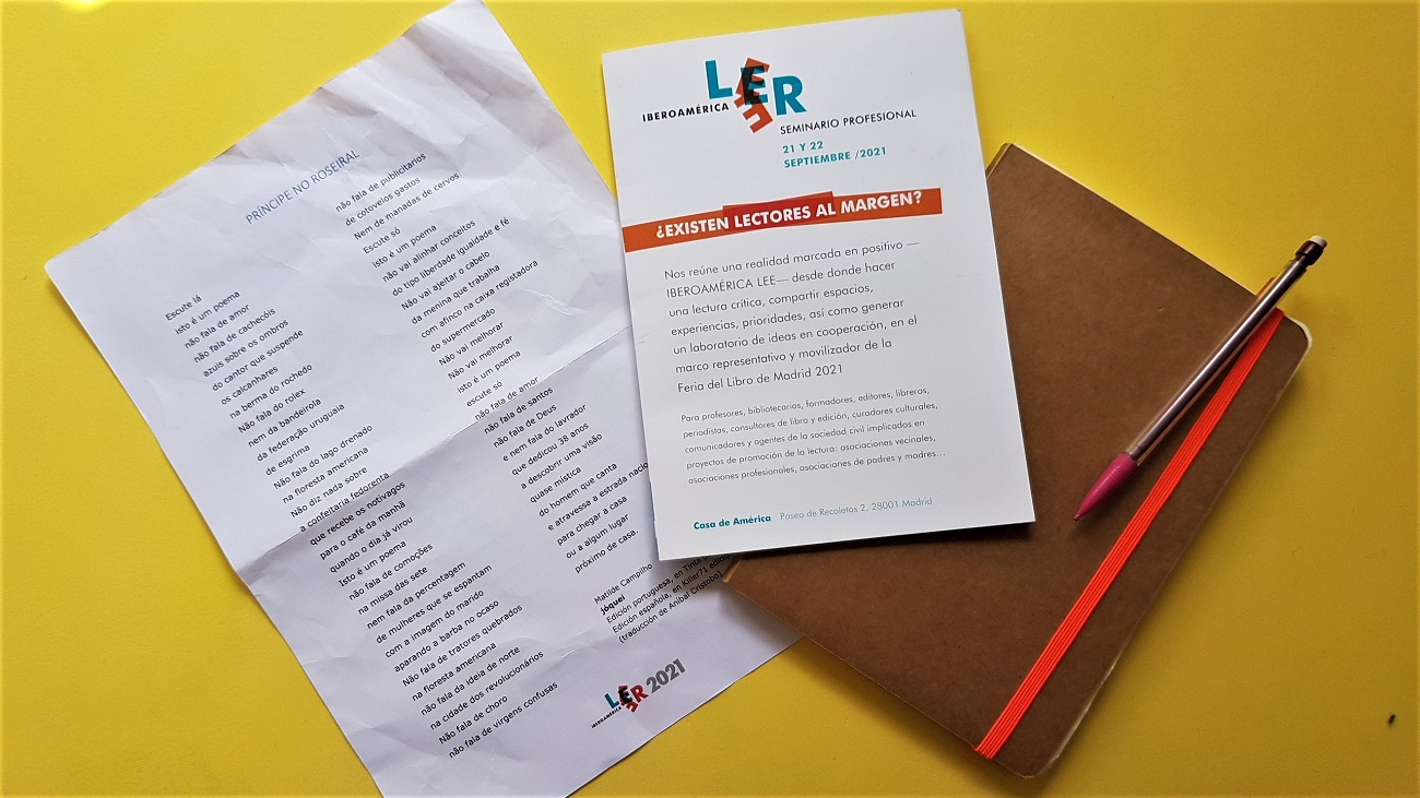 Leer Iberoamérica Lee 2021 ¿Existen lectores al margen? - Telar de Libros