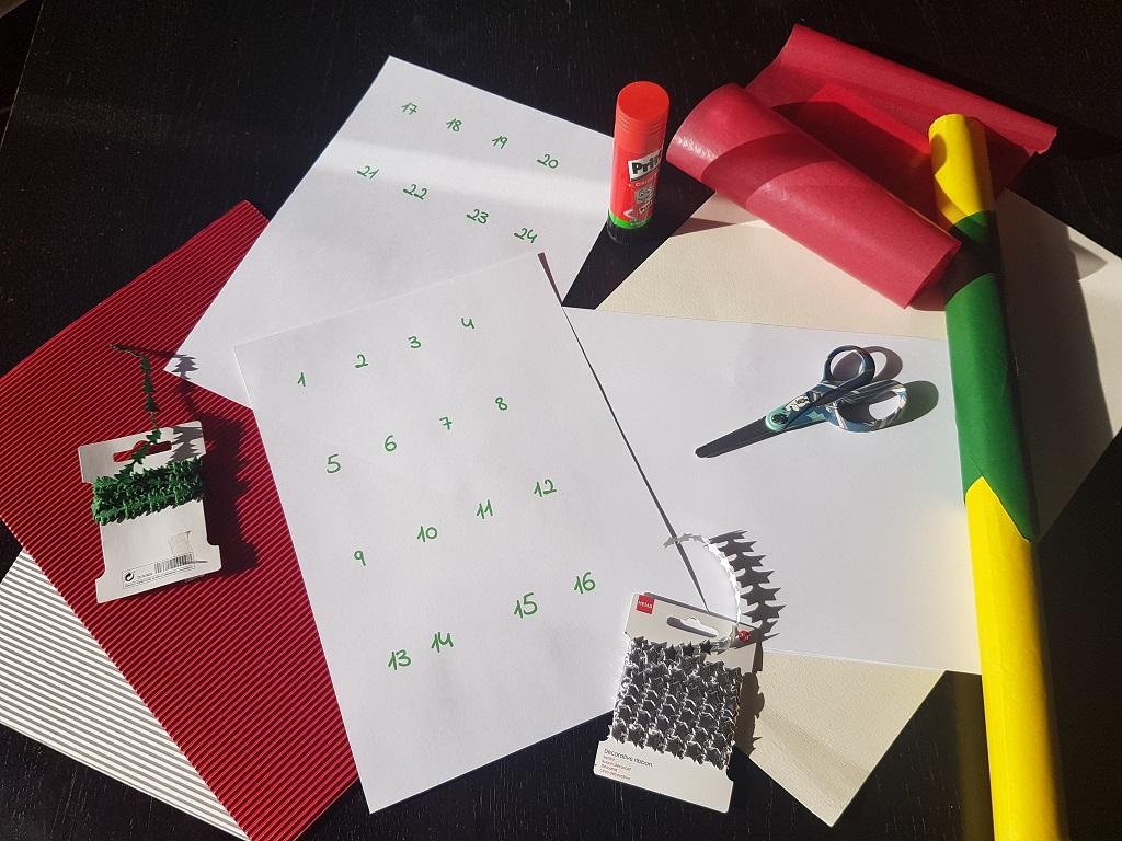 Cómo hacer un calendario de Adviento casero - Telar de Libros