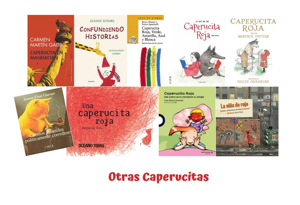 Otras Caperucitas - Selección de 20 Caperucitas Rojas - Telar de Libros