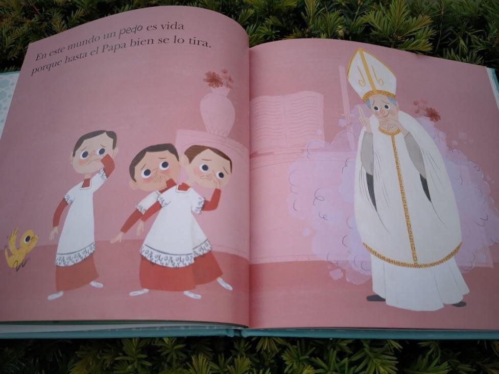 foto poema al pedo_marisa morea_telar de libros_papa
