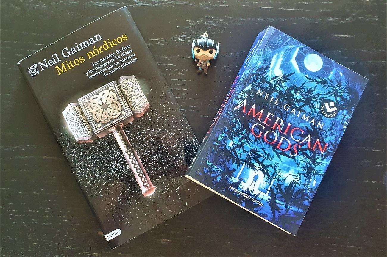 Mitos nórdicos y American Gods de Neil Gaiman - Opinión - Reseñas - Telar de Libros