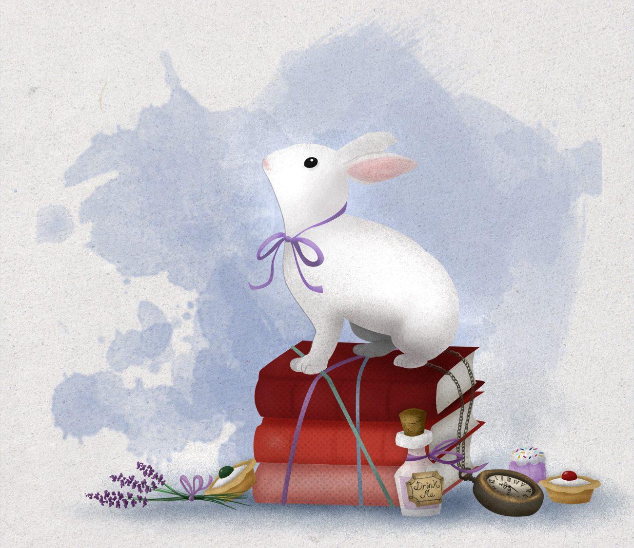 Telar de Libros Primer Aniversario - ilustración: Alicia Jiménez