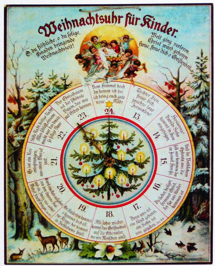 El origen del calendario de Adviento - Telar de Libros