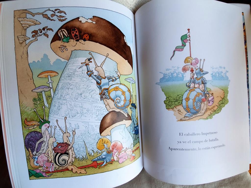 El caballero Impetuoso - Gilles Bachelet - Libros para niños - Telar de Libros