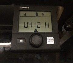 Error w412 en el termostato