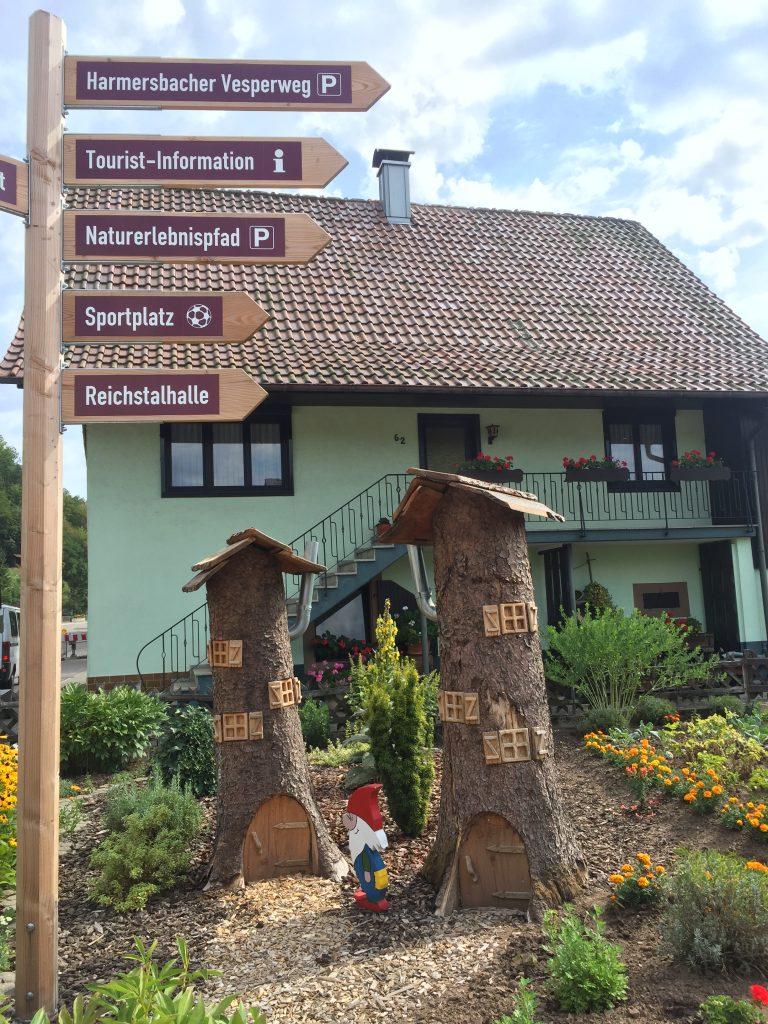 """inicio ruta """"Hademar Waldwichtel"""" en Oberharmersbach"""