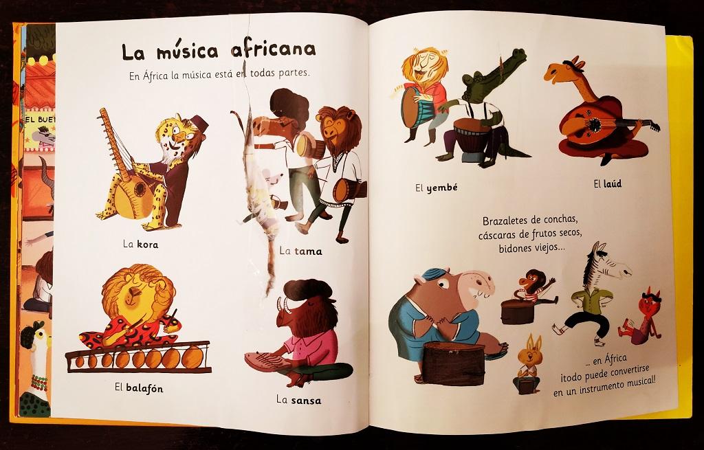 Psaco y la musica africana ultima pagina