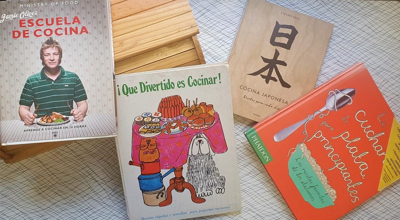 Libros de cocina para niños - Telar de Libros