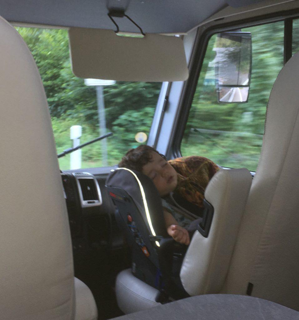 silla bebe en autocaravana asiento delantero