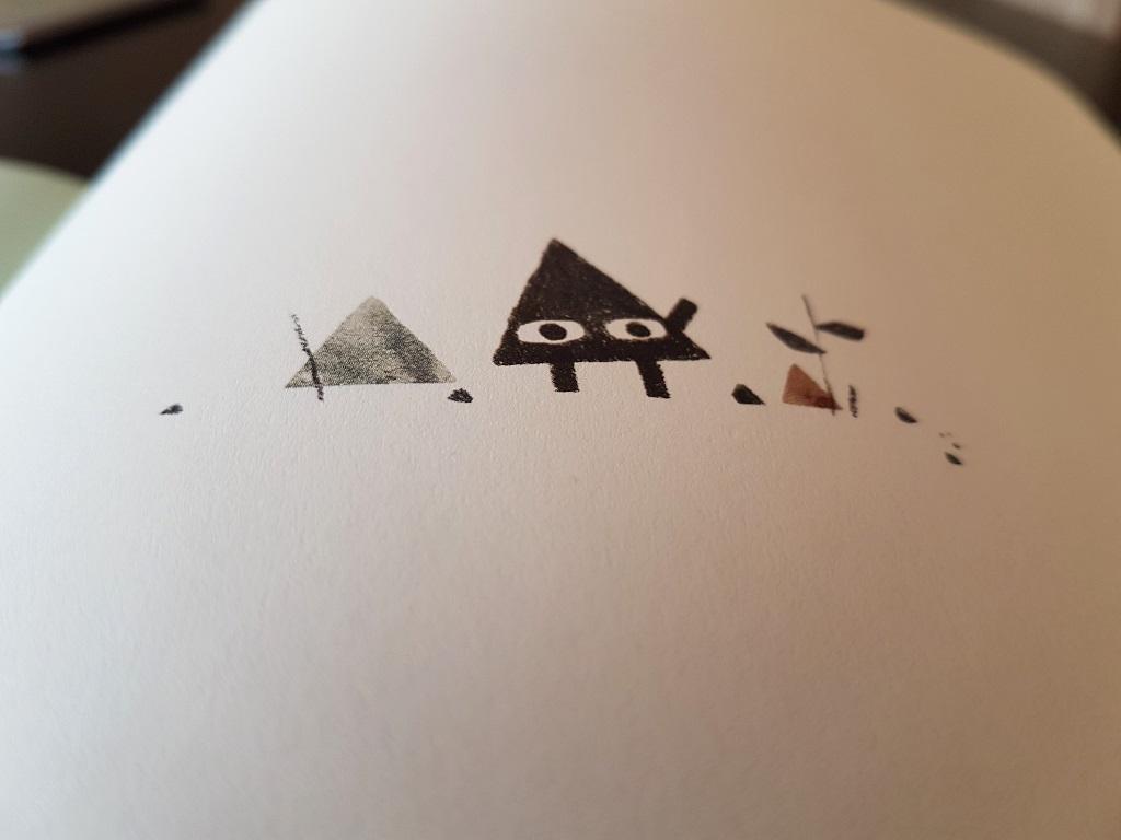 Triángulo - Mac Barnett y Jon Klassen - reseñas de libros infantiles - Telar de Libros